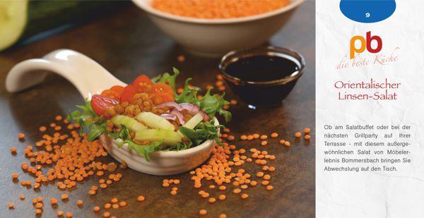 Rezept Orientalischer Linsen-Salat