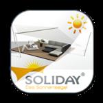 Soliday APP für Sonnensegel zum downloaden