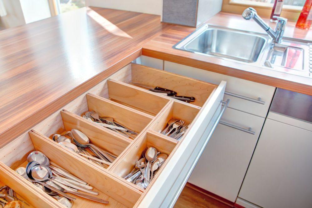 Küche Schubladen einteilung