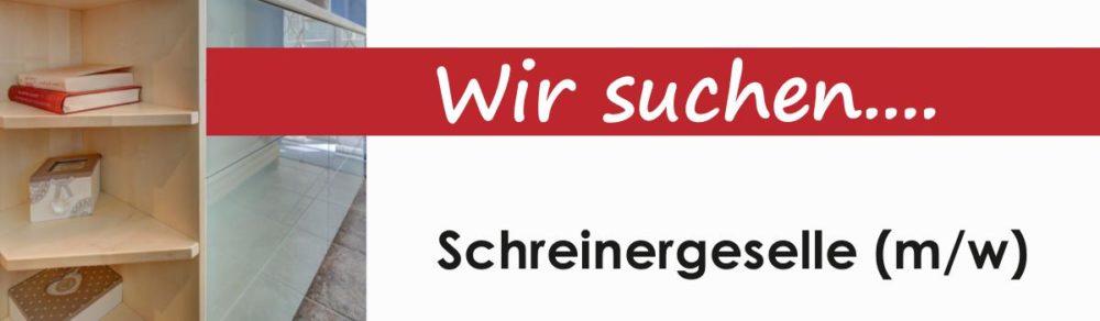 Jobs Schreinergesellen (w/m)