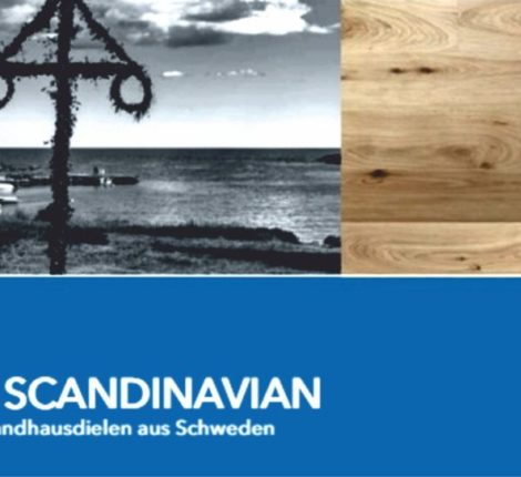 Pure Scandinavian Landhausdielen in Eiche