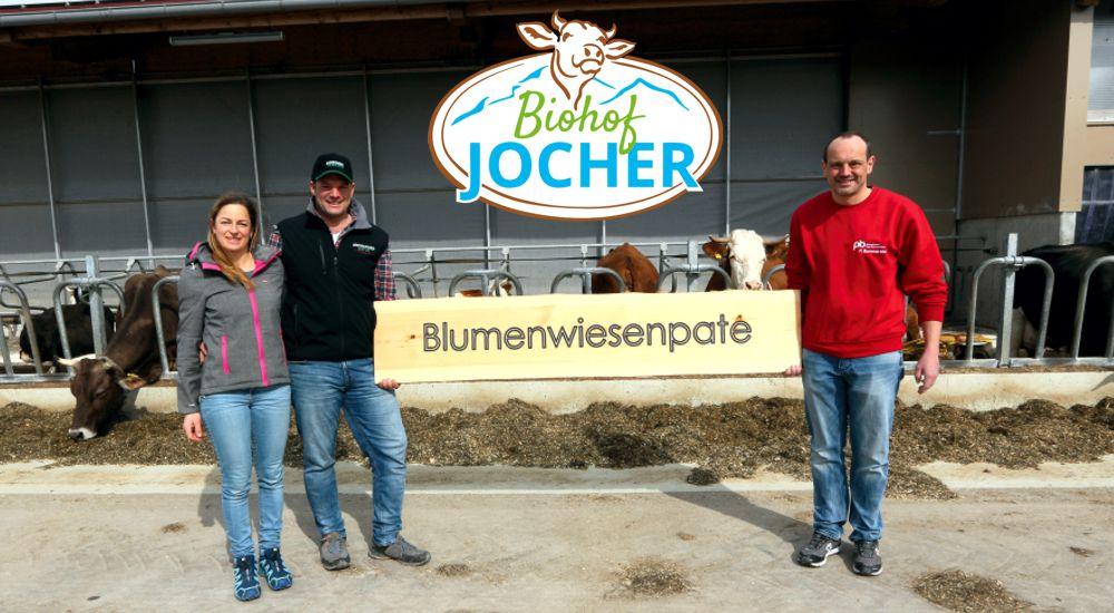 Blumenwiesenpatenschaft bei Biohof Jocher Schongau